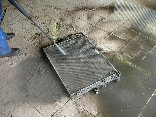 Промывка радиатора охлаждения двигателя своими руками 61